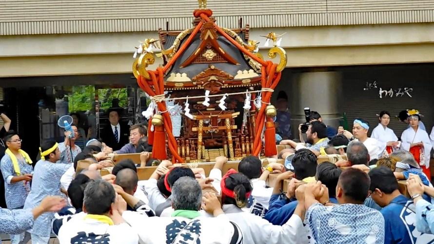 鎌倉・葛原岡神社~例大祭(2019年)~その3・本祭・神輿渡御(後半)