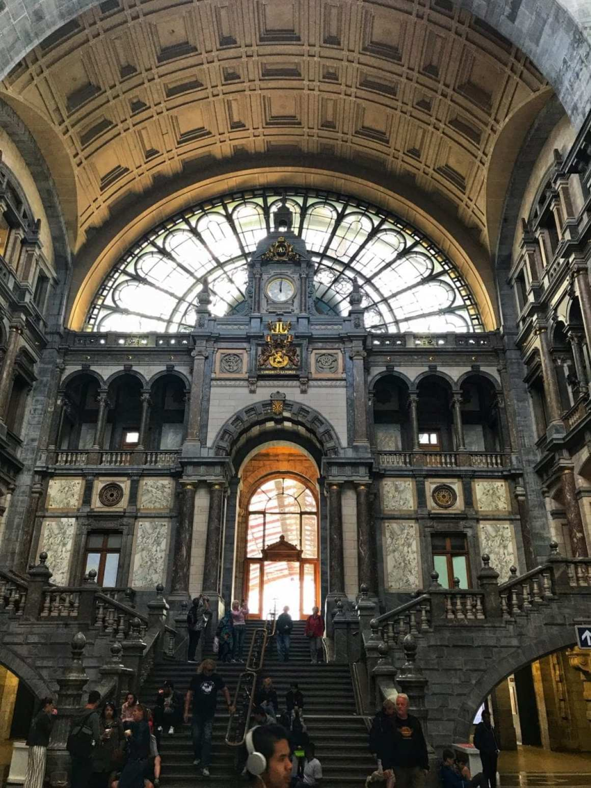 The amazing Antwerp Central Station