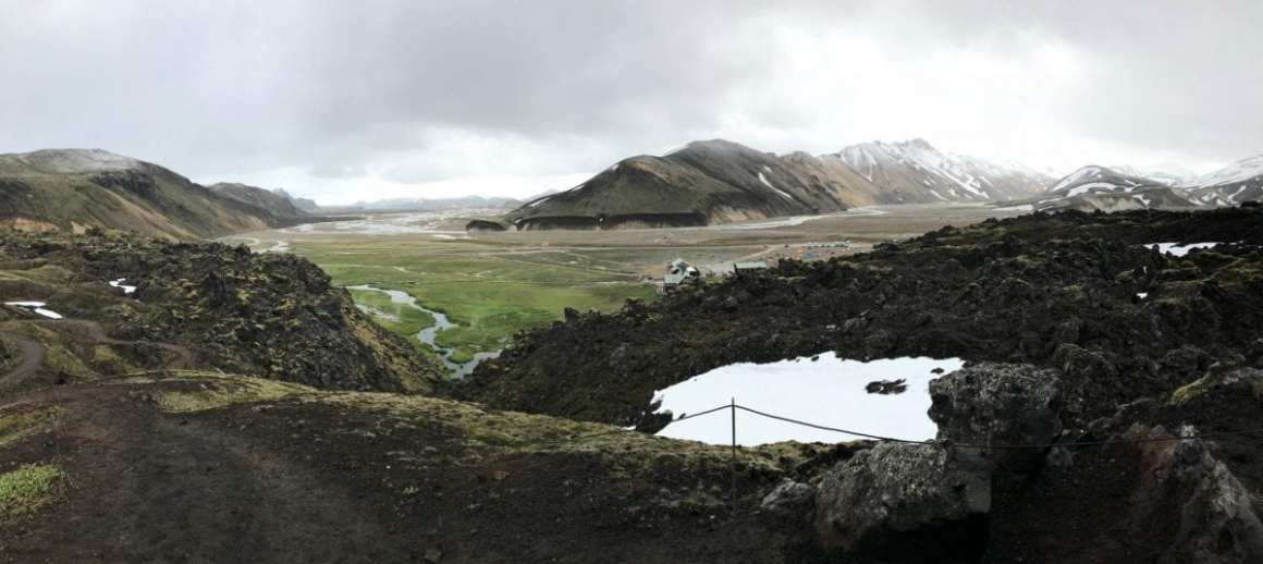 View over Landmannalaugar