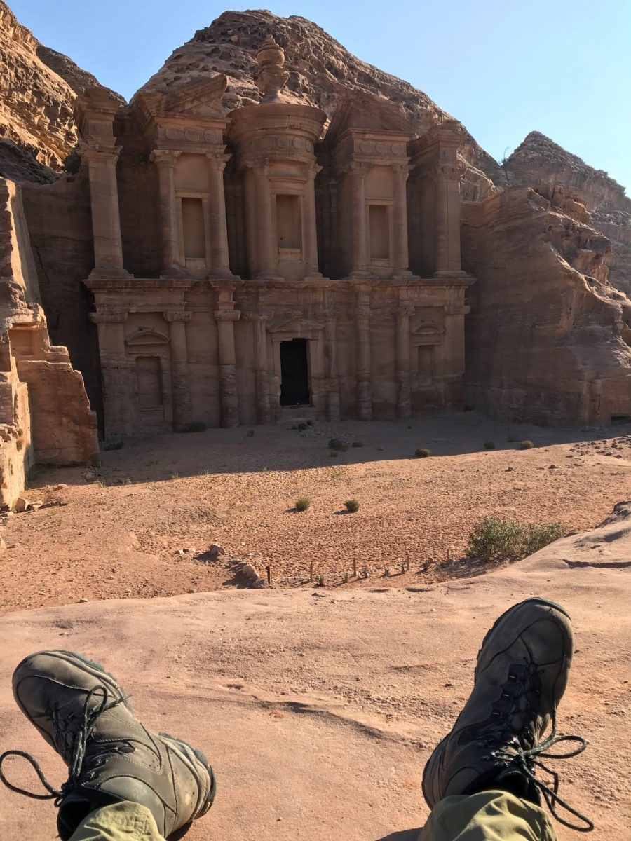 Jordan Trail - arrived in Petra