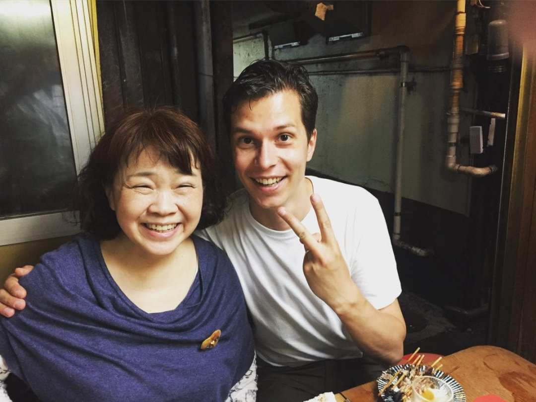 Amazing Tokyo food experience with the legend Chieko Ogawa