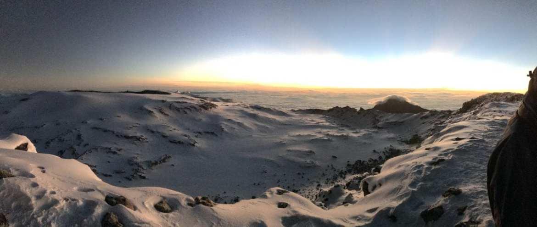Kilimanjaro view from Stella Point