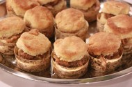 Hudson Valley Duck Confit, Foie Gras Buttermilk Biscuit, Tea Braised Fig Jam
