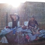 How we slept in the desert