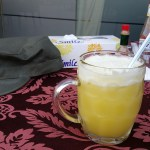 Pineapple juice!