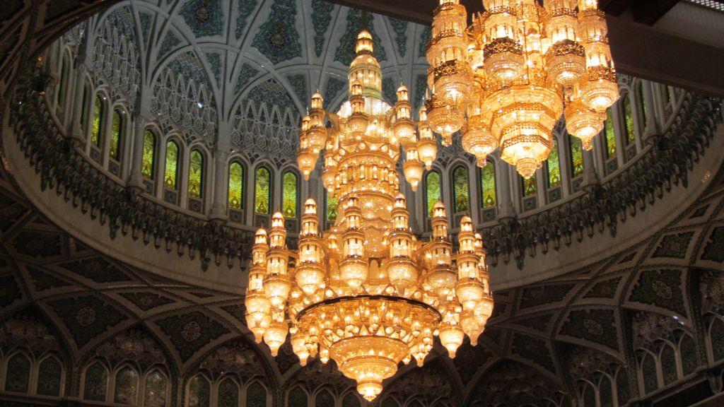 Kabusz szultán Nagy mecset csillár
