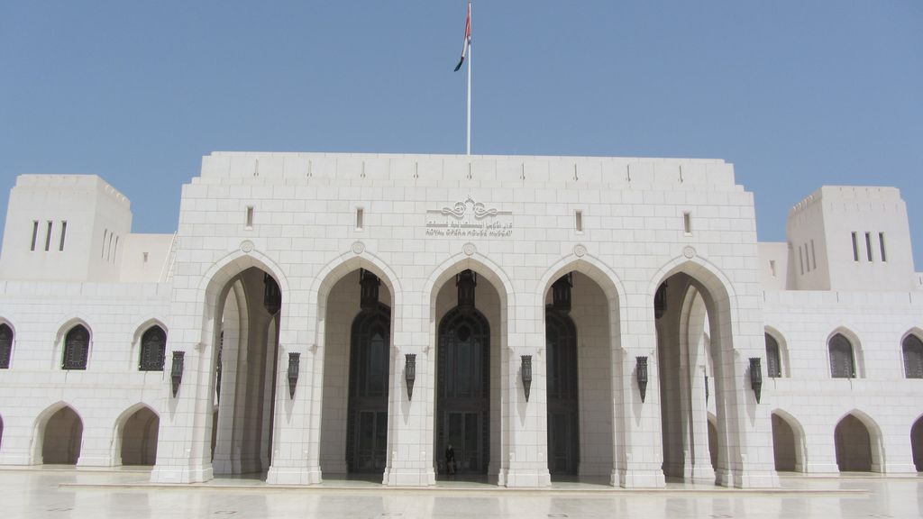 a királyi Opera Muscat