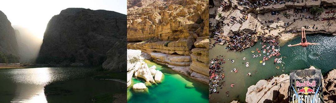 Omán legszebb völgye: a Wadi Shab szurdok