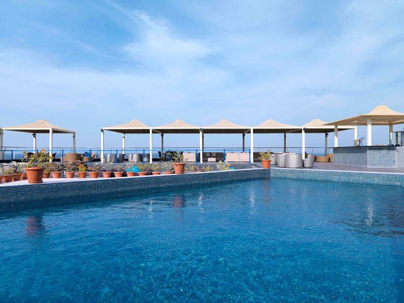 Park Inn Muscat Rooftop pool