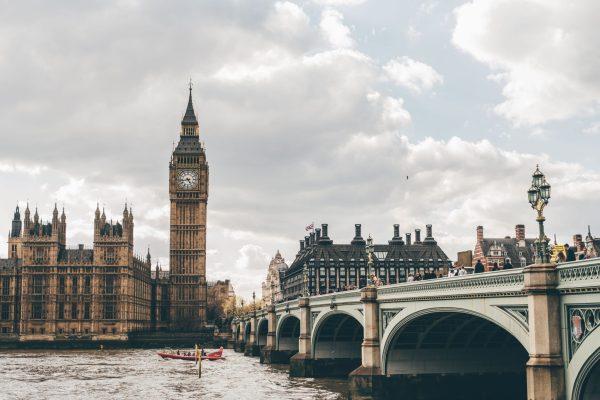 Vista do Big Ben em Londres