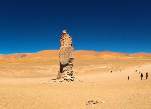 Imagem dos Monges de Pacana, Deserto do Atacama, Chile