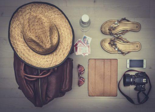 detalhes de como arrumar sua mala