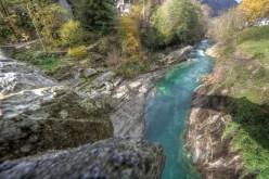 Vista dal ponte romano di Lavertezzo