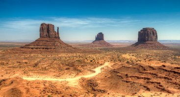 View of the Monument Valley