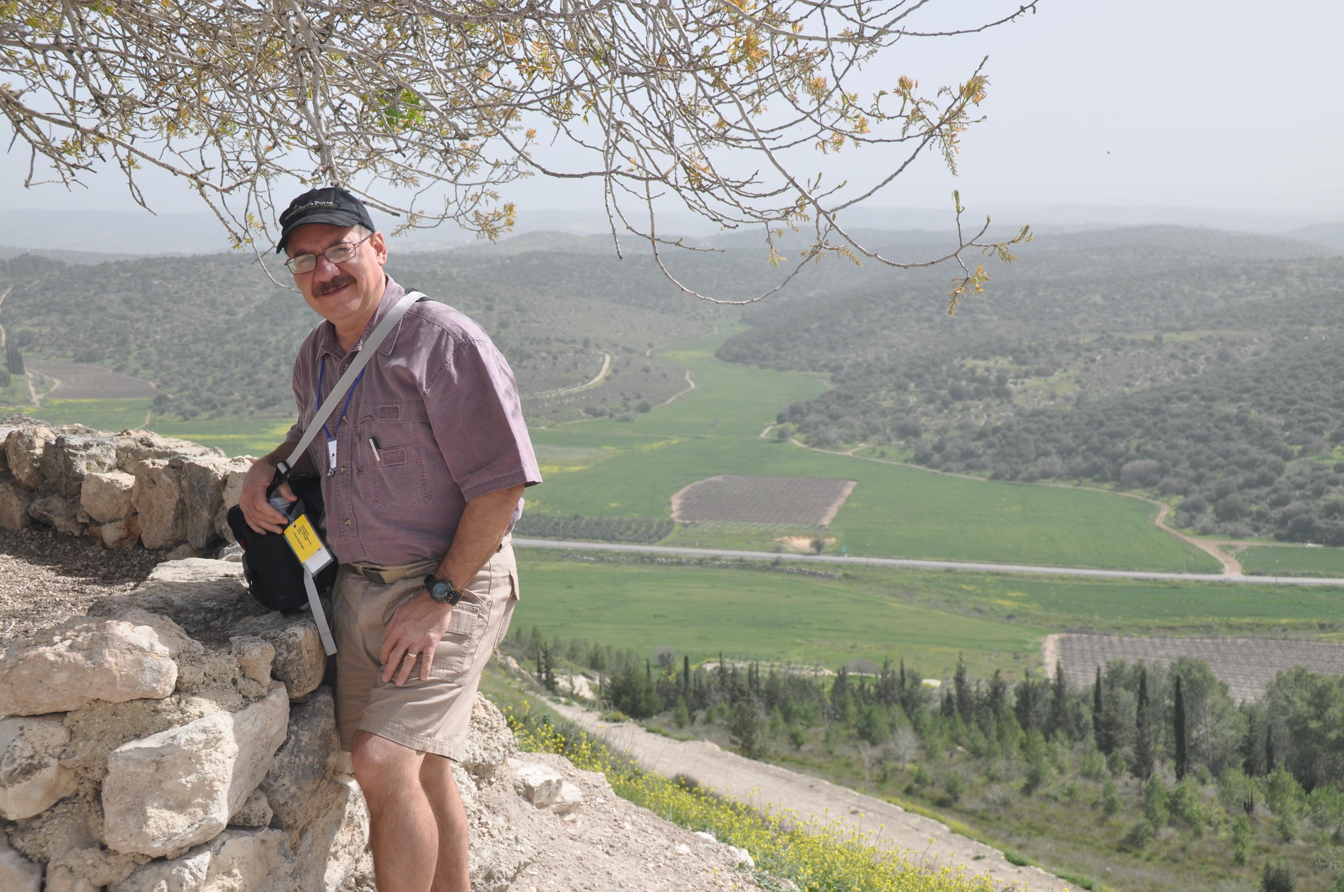 Overlooking the Valley of Elah