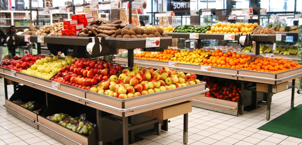 O Marché frais Fruits 1200