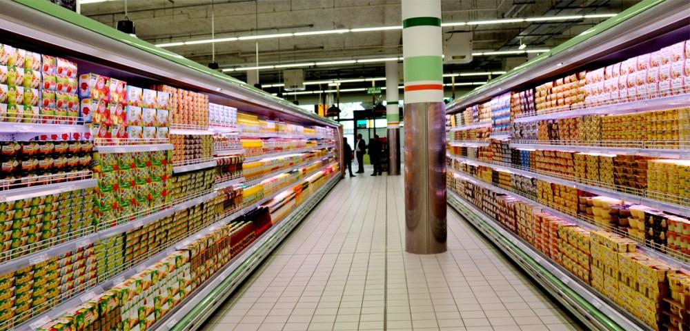 O marché frais La Courneuve yaourt 1200
