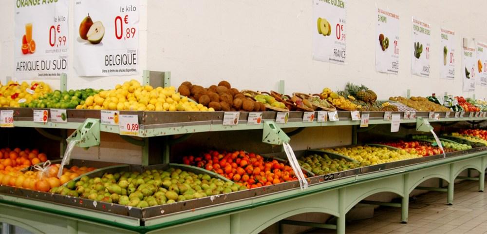 O mercato Goussainville fruit 1200