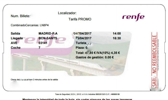 Passagem de trem na Espanha PASSO A PASSO