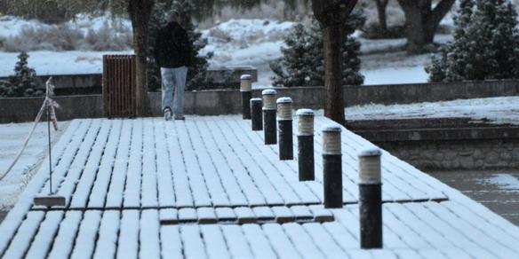 La nieve cubrió a Mendoz4