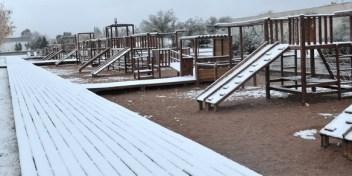 La nieve cubrió a Mendoza