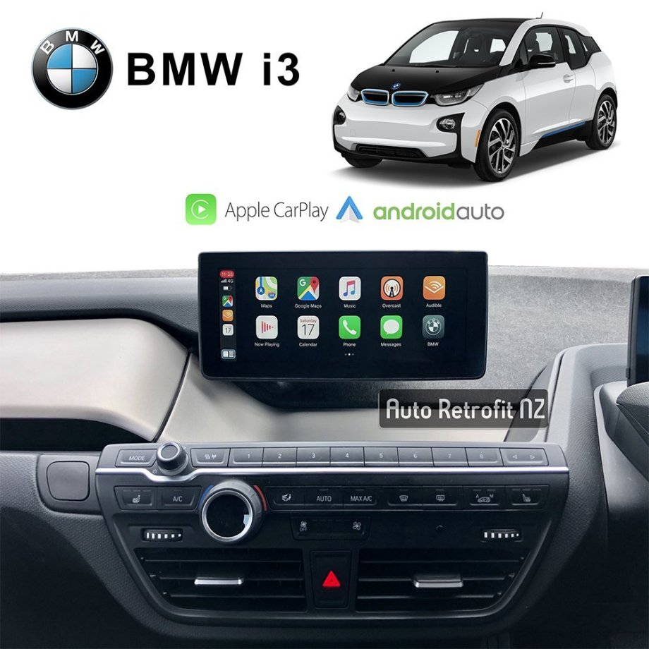 Auto Retrofit - BMW i3 CarPlay & Android Auto Retrofit Kit (Wireless)