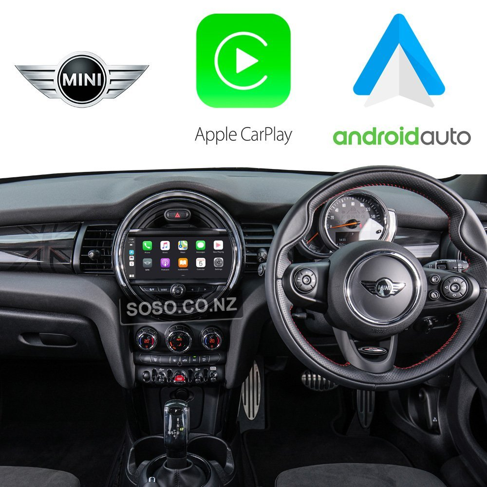 Auto Retrofit - Apple CarPlay & Android Auto Retrofit Kit for BMW Mini Cooper CIC 08-12