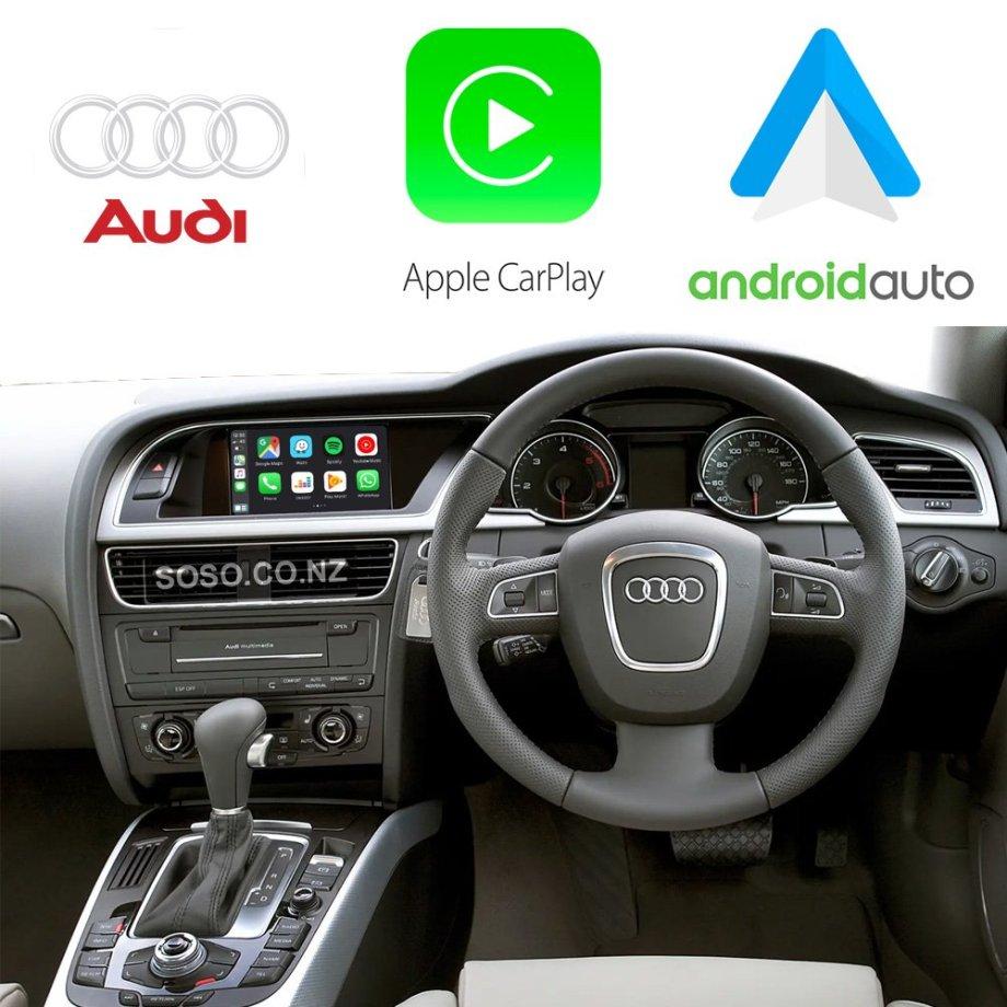 Auto Retrofit - Audi A4 S4 RS4 (2009-2015) Apple CarPlay & Android Auto Retrofit Kit