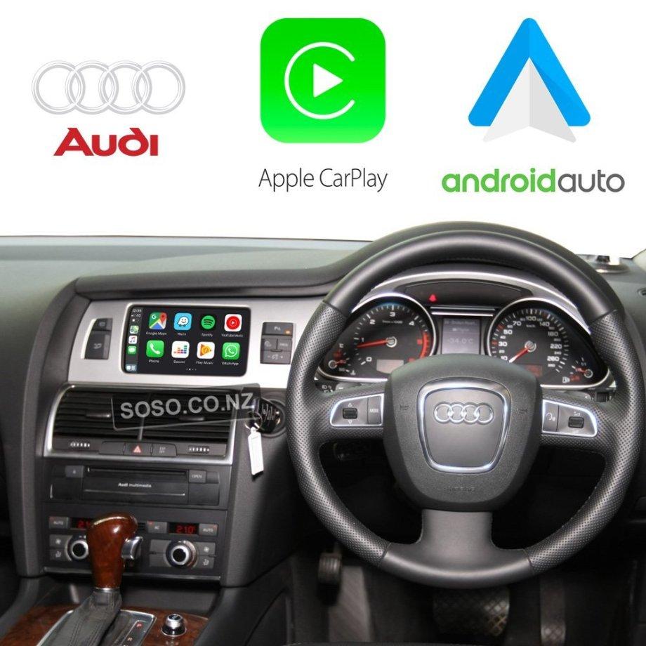 Auto Retrofit - Audi Q7 SQ7 (2010-2015) Apple CarPlay & Android Auto Retrofit Kit