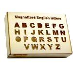 صندوق اللغة الانجليزية حروف ممغنط-box