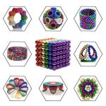 colored magnetic balls shapes