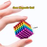 colored magnetic balls
