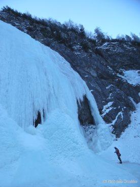 La base della cascata