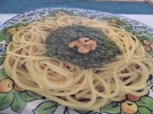 Spaghetti mit Walnuss Pesto