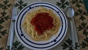 Tomaten Spaghetti