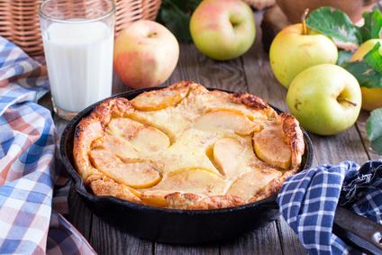 Quark Apfelpfannkuchen