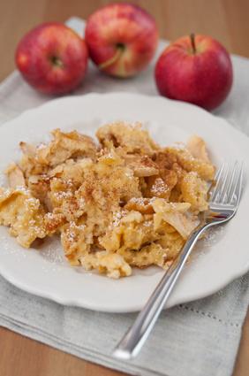 Apfel Grießschmarren