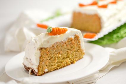 flaumiger Karottenkuchen