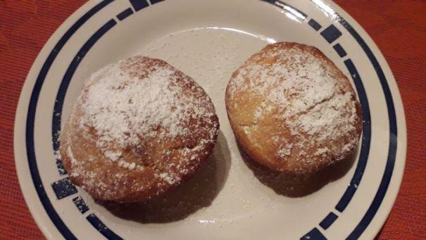 Berliner im Ofen gebacken