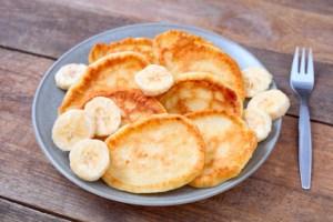 Low Carb Bananen Pancakes