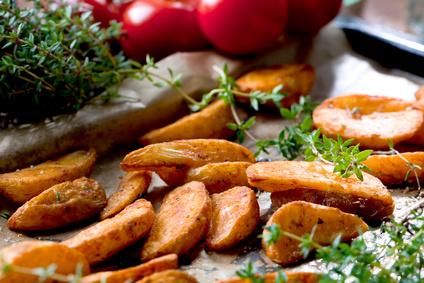 gebackene Kartoffeln