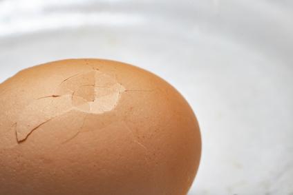 kaputte Eier verwerten
