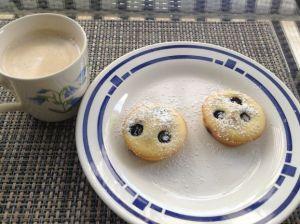 Heidelbeer Pfannkuchen