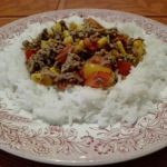 Reis-Gemuesepfanne-mit-Hackfleisch