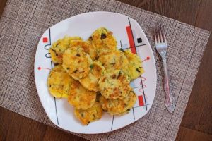 Kräuterkartoffel Pfannkuchen
