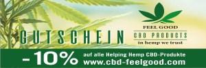 10% auf alle CBD Produkte