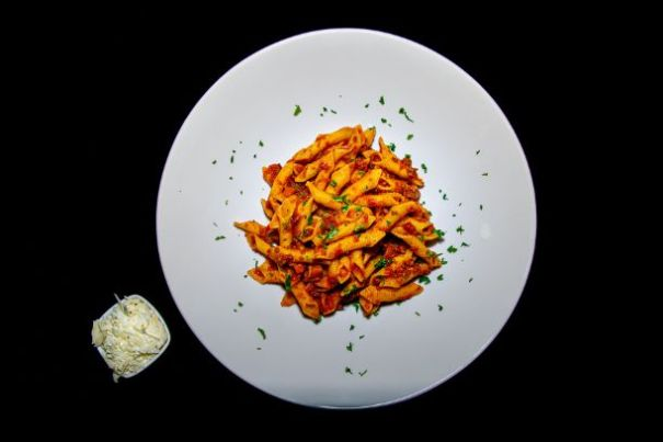 Spicy Penne Bolognese