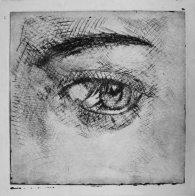 Oeil Yanna (gravure)