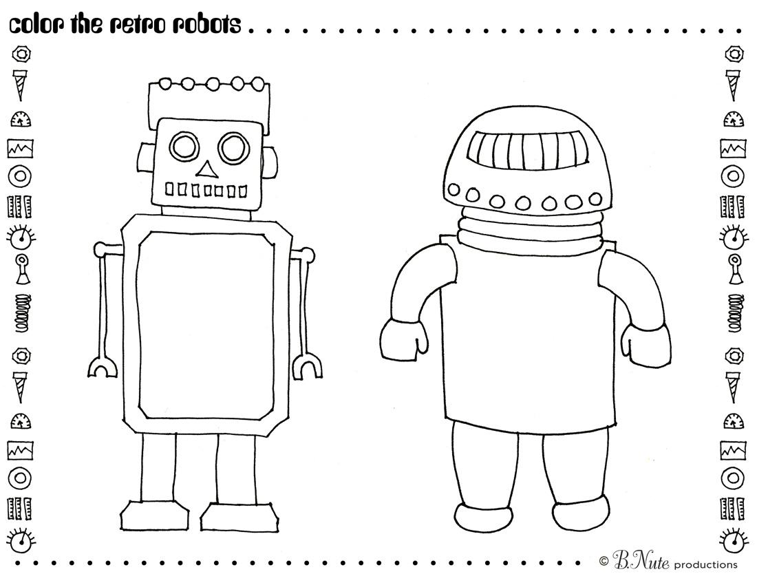 Robot Yoga Theme