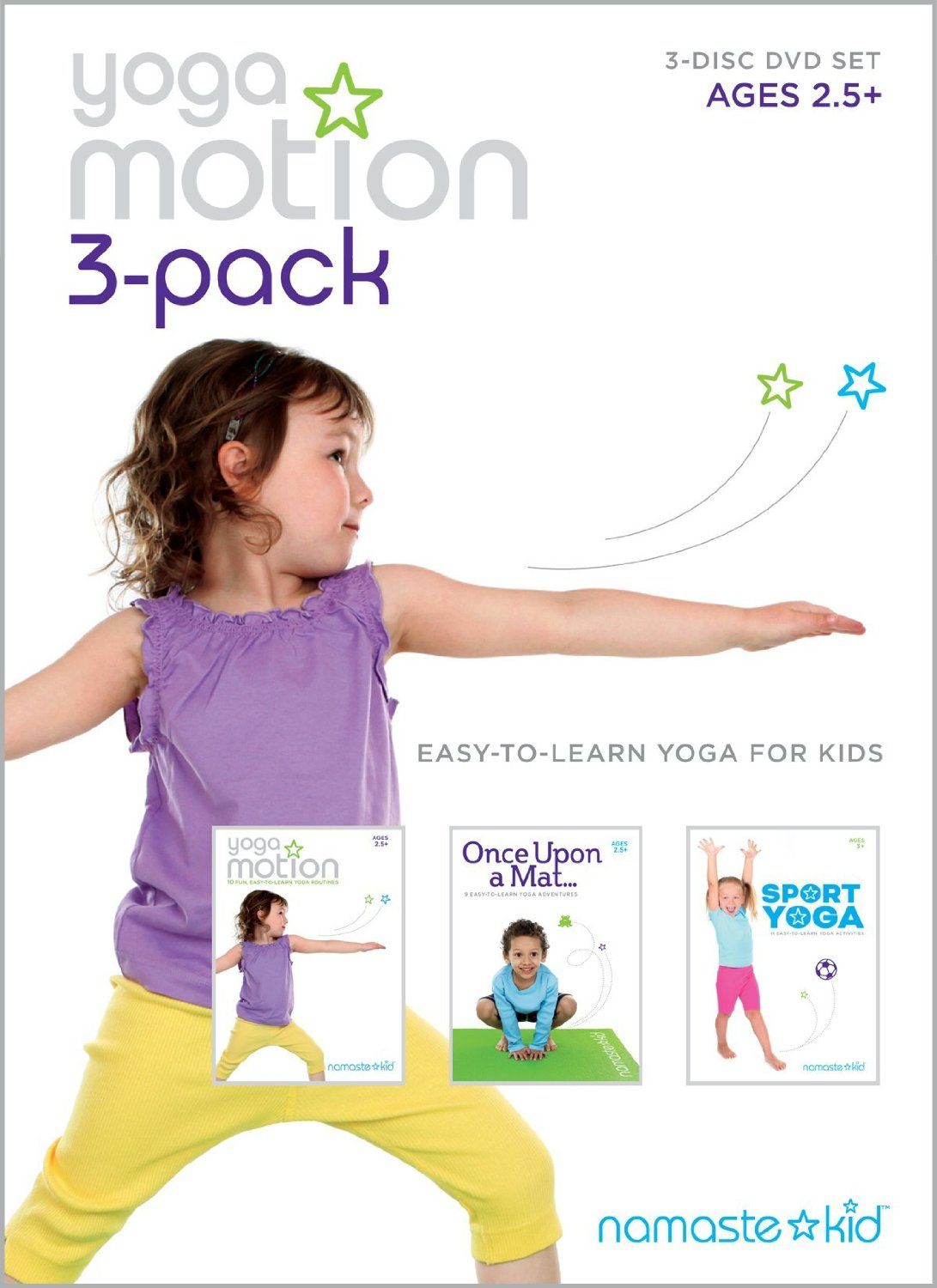 Review Amp Giveaway Namaste Kid S Sport Yoga Dvd